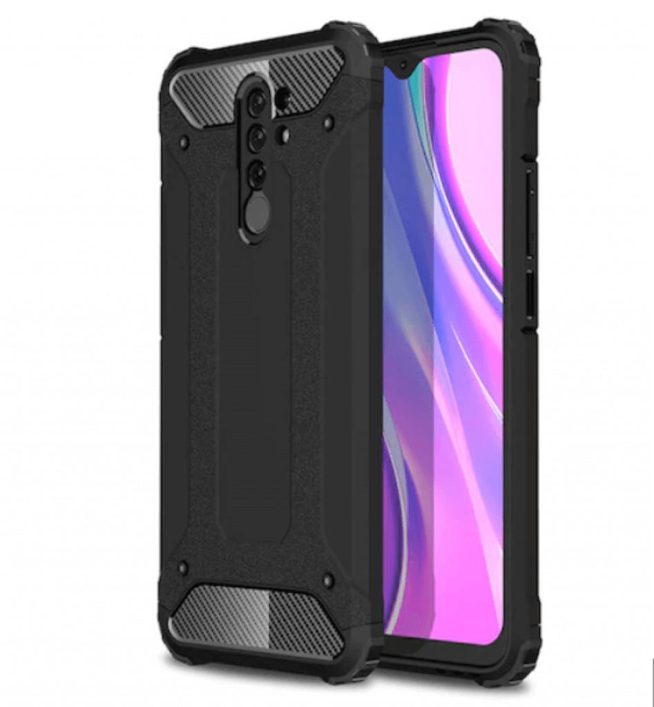 Lenuo Armor obal pro Xiaomi Redmi 9, černá