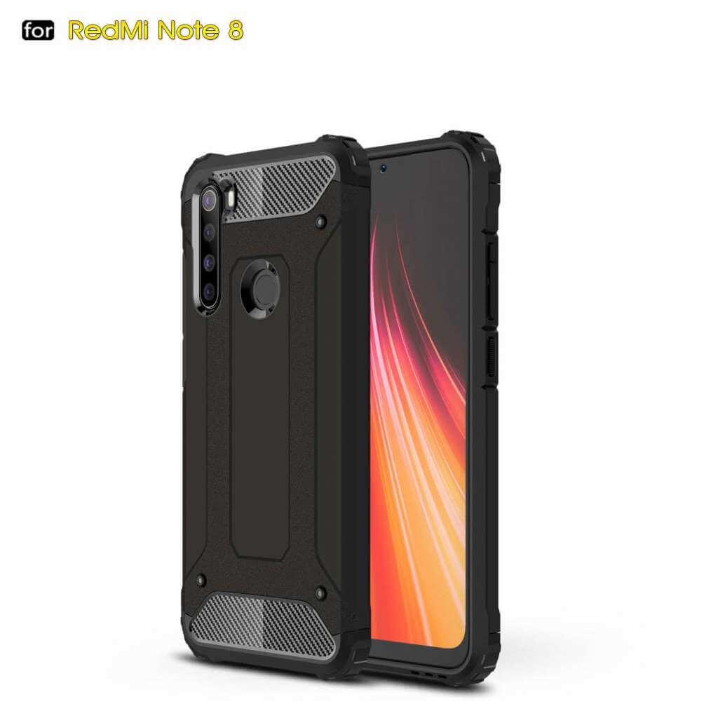 Lenuo Armor obal pro Xiaomi Redmi Note 8, černá