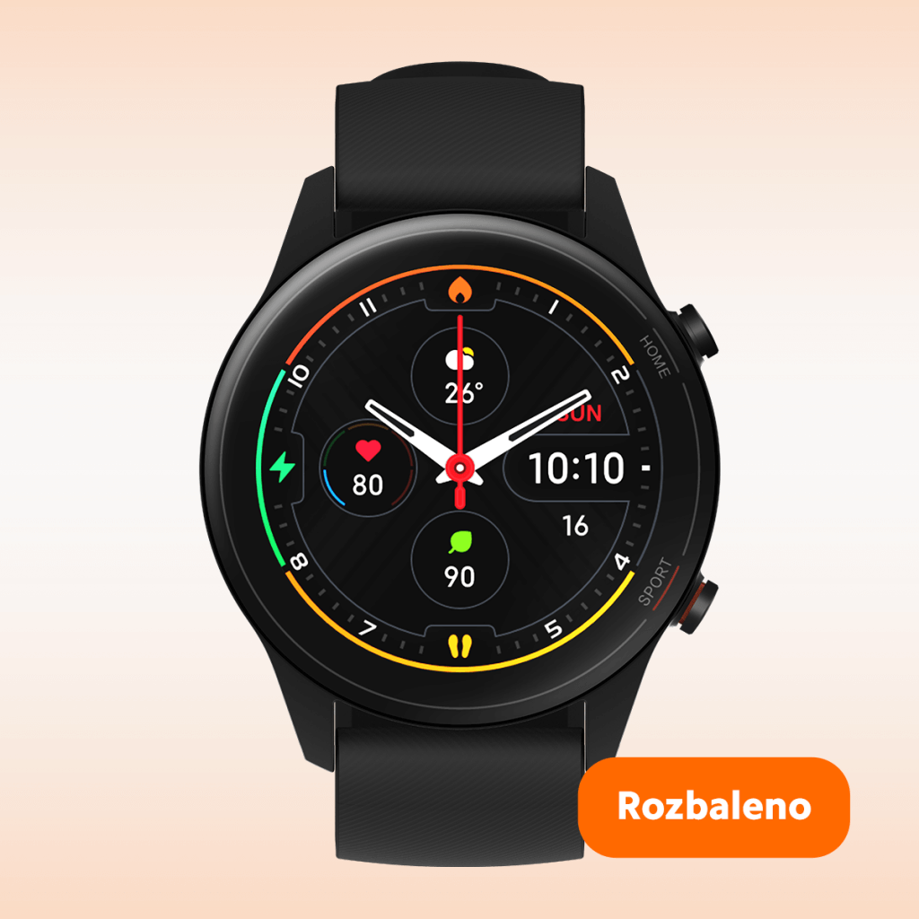 Mi Watch (Black) ROZBALENO