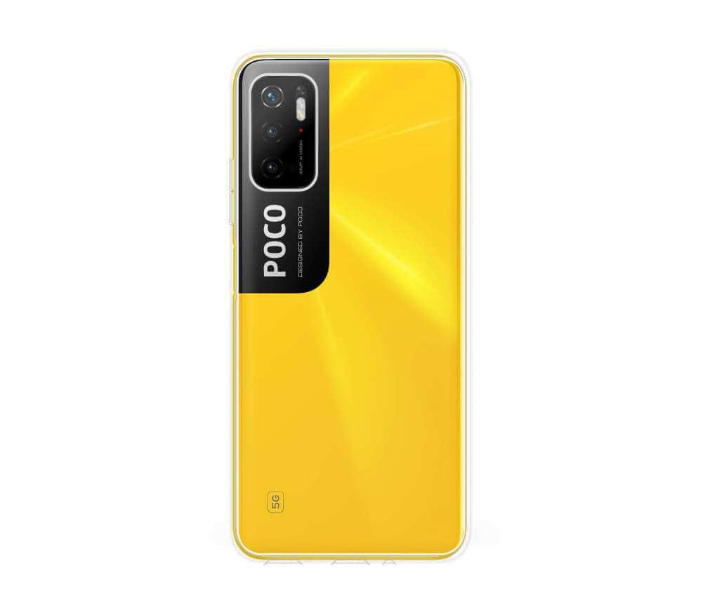 Ochranný TPU obal Lenuo pro Poco M3 Pro 5G, čirý