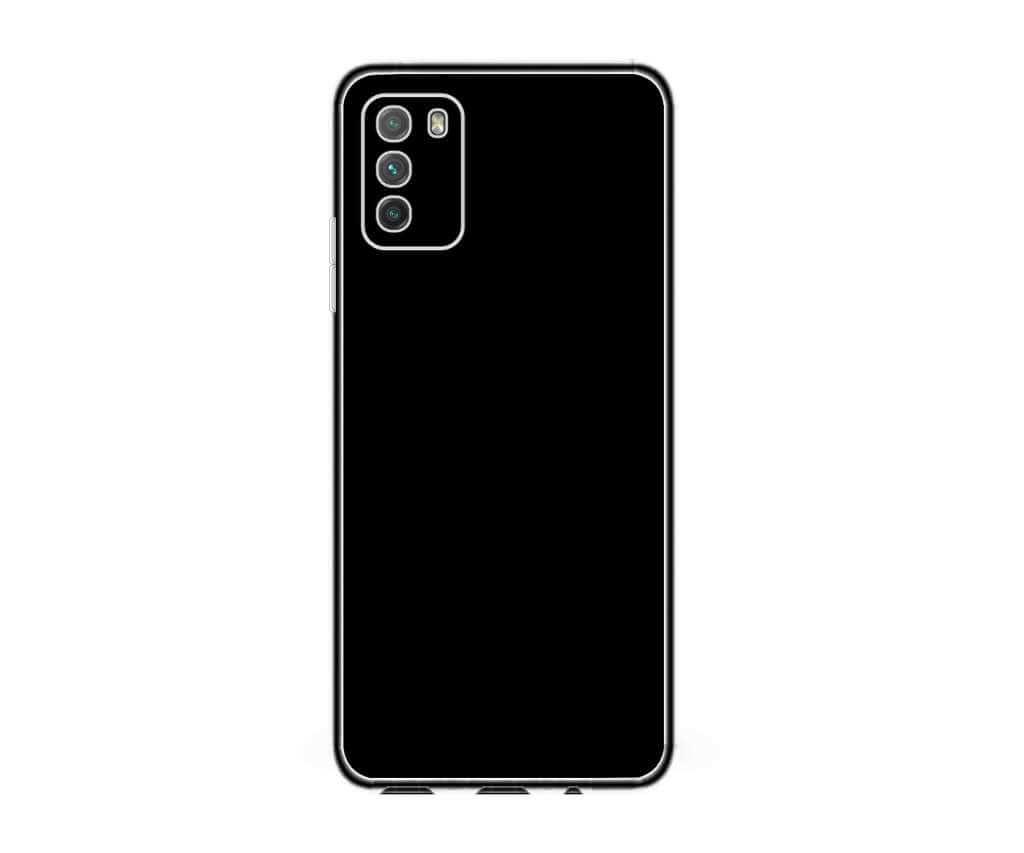 Ochranný TPU obal Lenuo pro Xiaomi Poco M3, černý