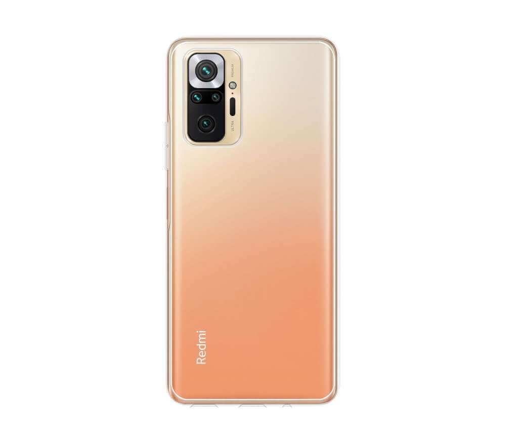 Ochranný TPU obal Lenuo pro Xiaomi Redmi Note 10 Pro, čirý
