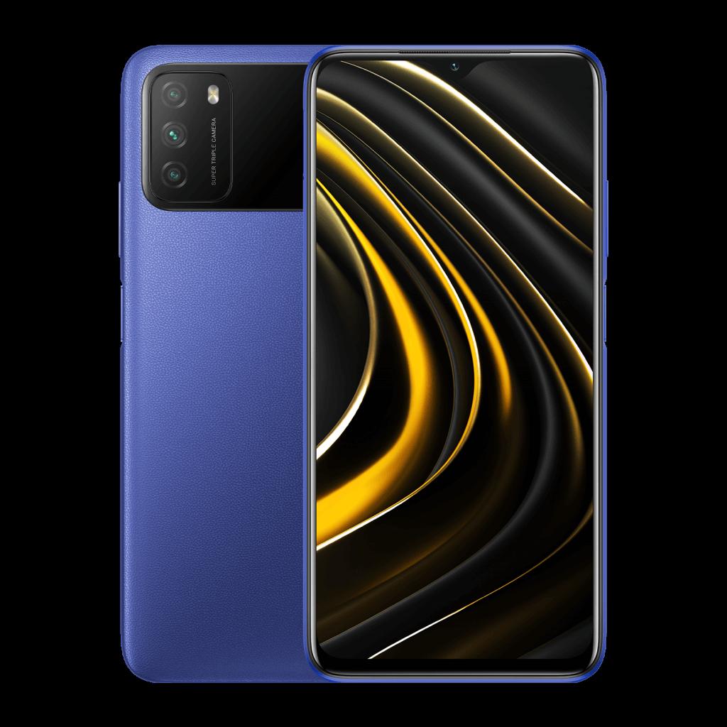 POCO M3 4/64GB modrá