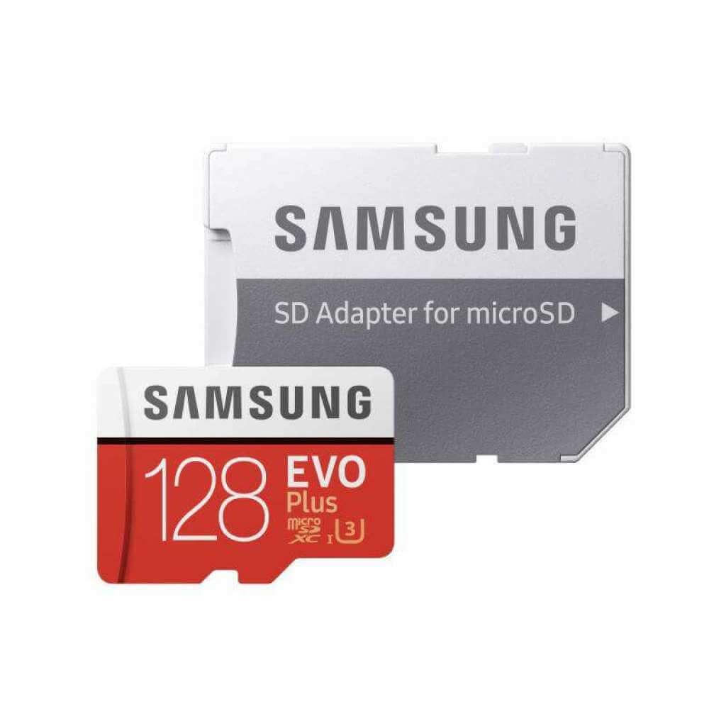 Samsung EVO Plus Micro SDXC 128GB Class 10 s adaptérem