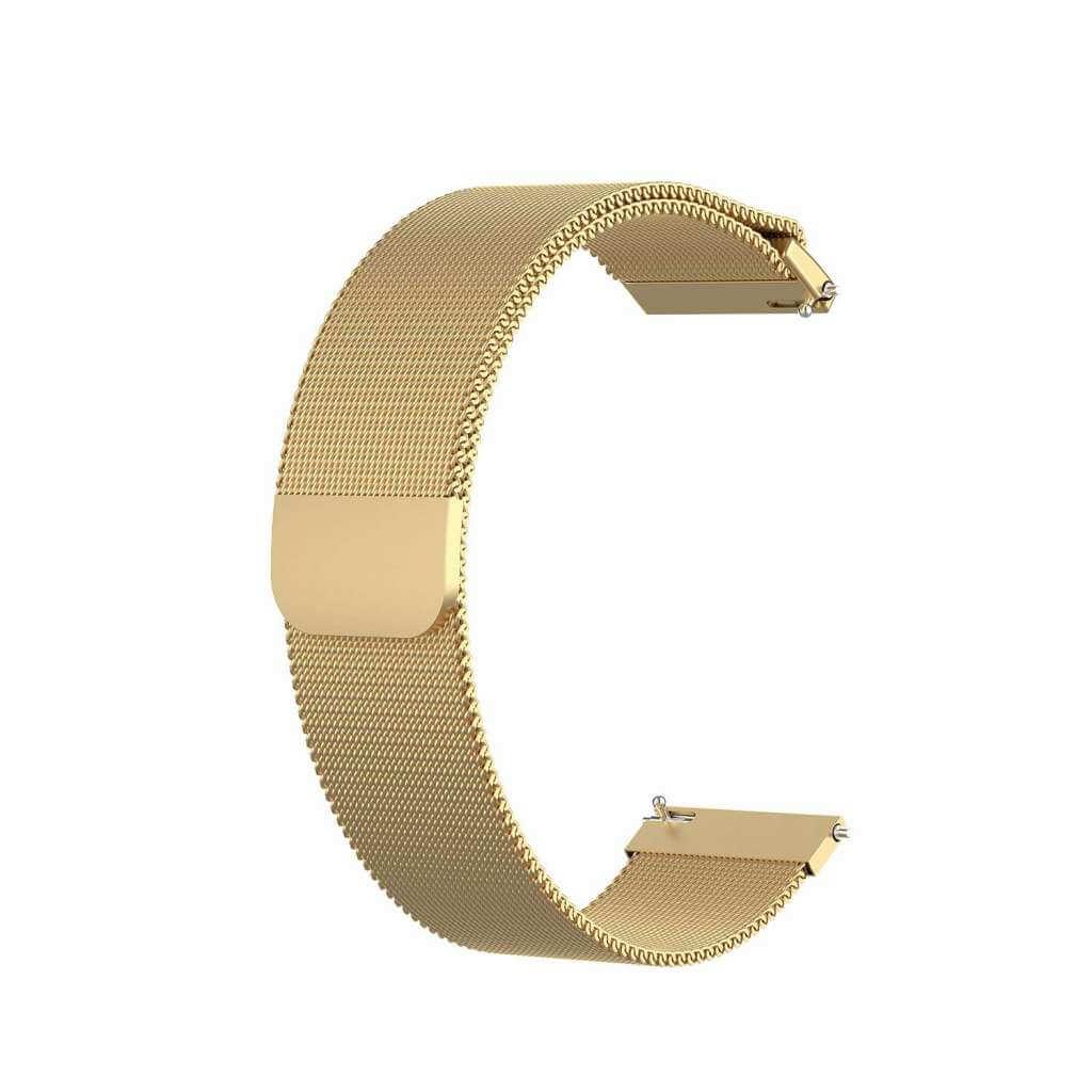 Xiaomi GTR ocel strap 22 mm (zlatá)