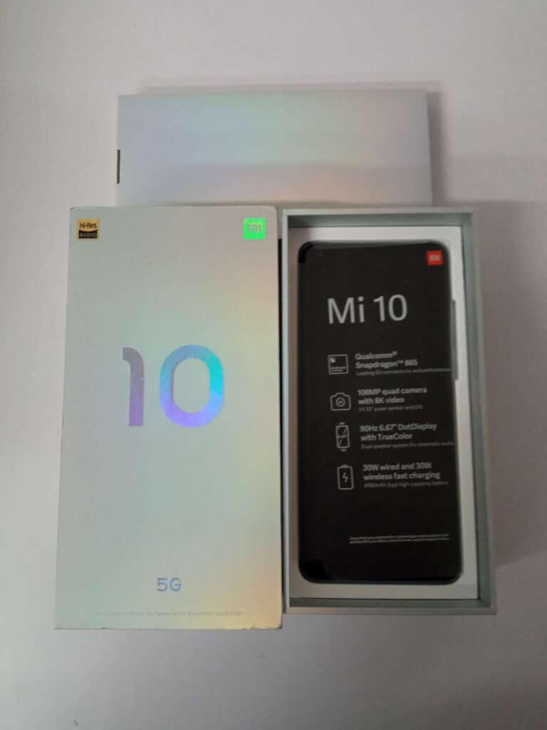 Xiaomi Mi 10 8/256GB šedá ROZBALENO