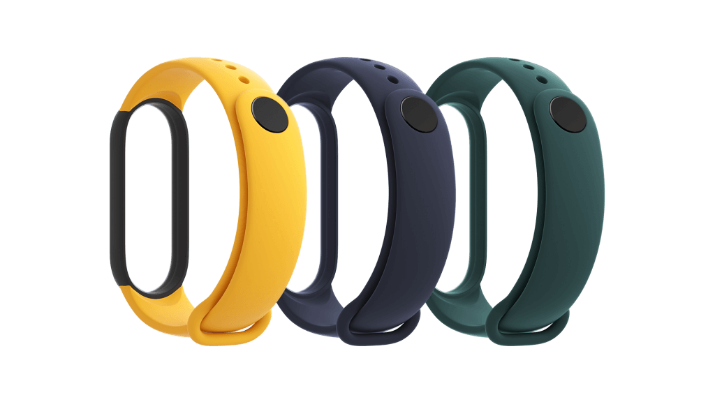 Xiaomi Mi Band Strap 5 (Blue, Yellow, Green)