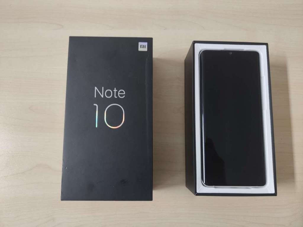 Xiaomi Mi Note 10 128GB bílá ROZBALENO
