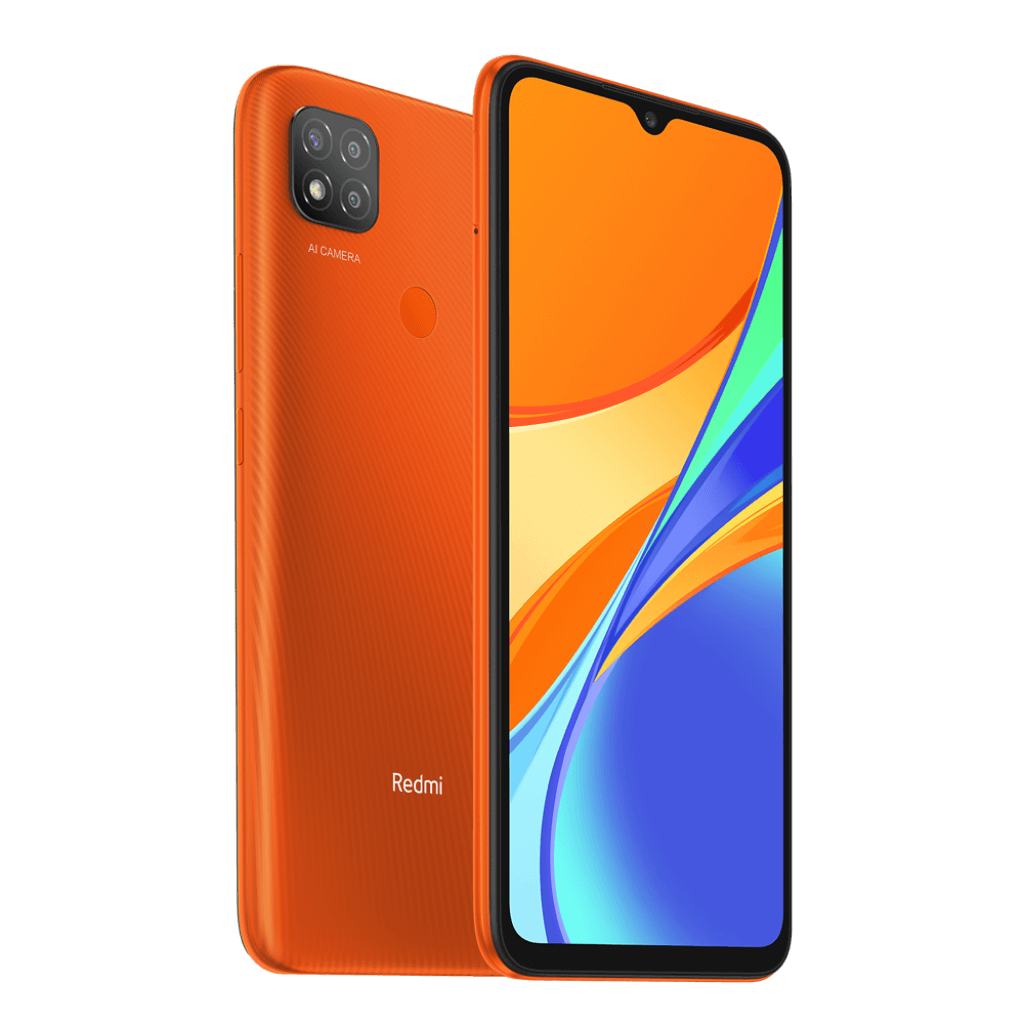 Xiaomi Redmi 9C NFC 2/32GB oranžová