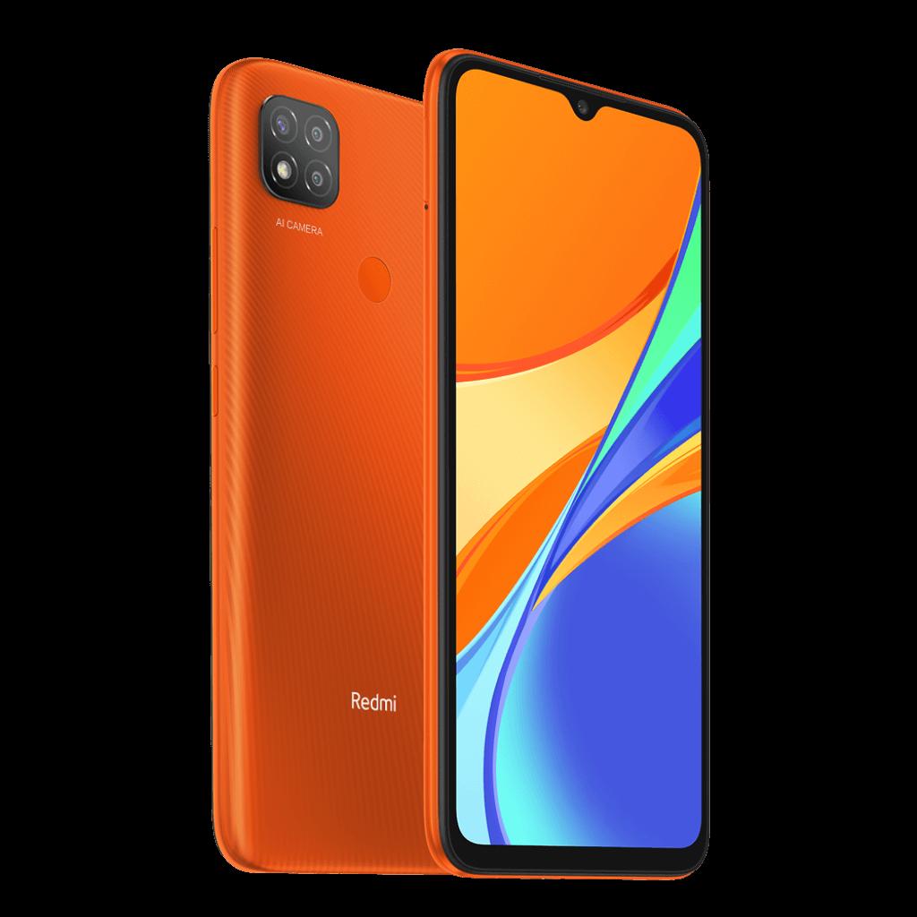 Xiaomi Redmi 9C NFC 3/64GB oranžová