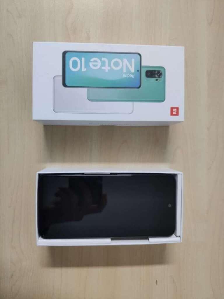 Xiaomi Redmi Note 10 4/64GB černá - rozbaleno