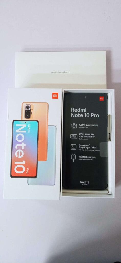 Xiaomi Redmi Note 10 Pro 6/128GB černá ROZBALENO