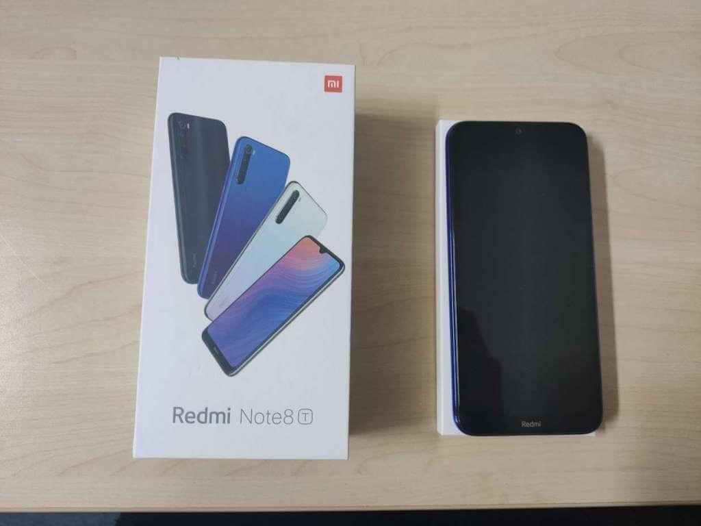 Xiaomi Redmi Note 8T 32GB modrá - rozbaleno