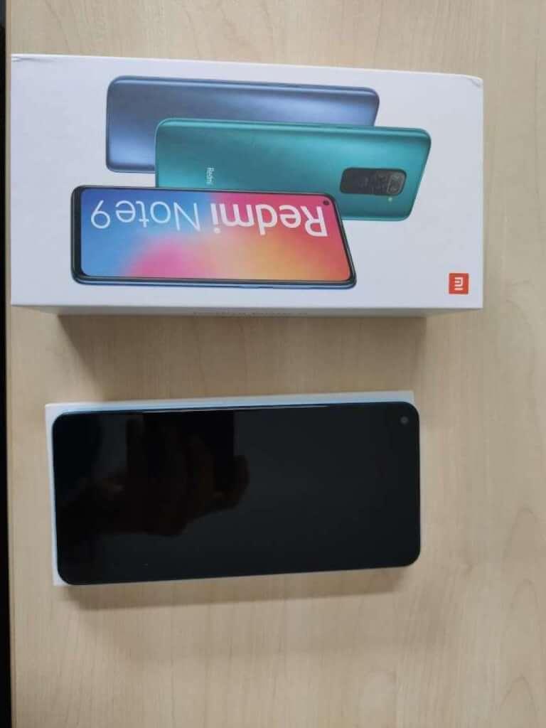 Xiaomi Redmi Note 9 3/64GB šedá - rozbaleno