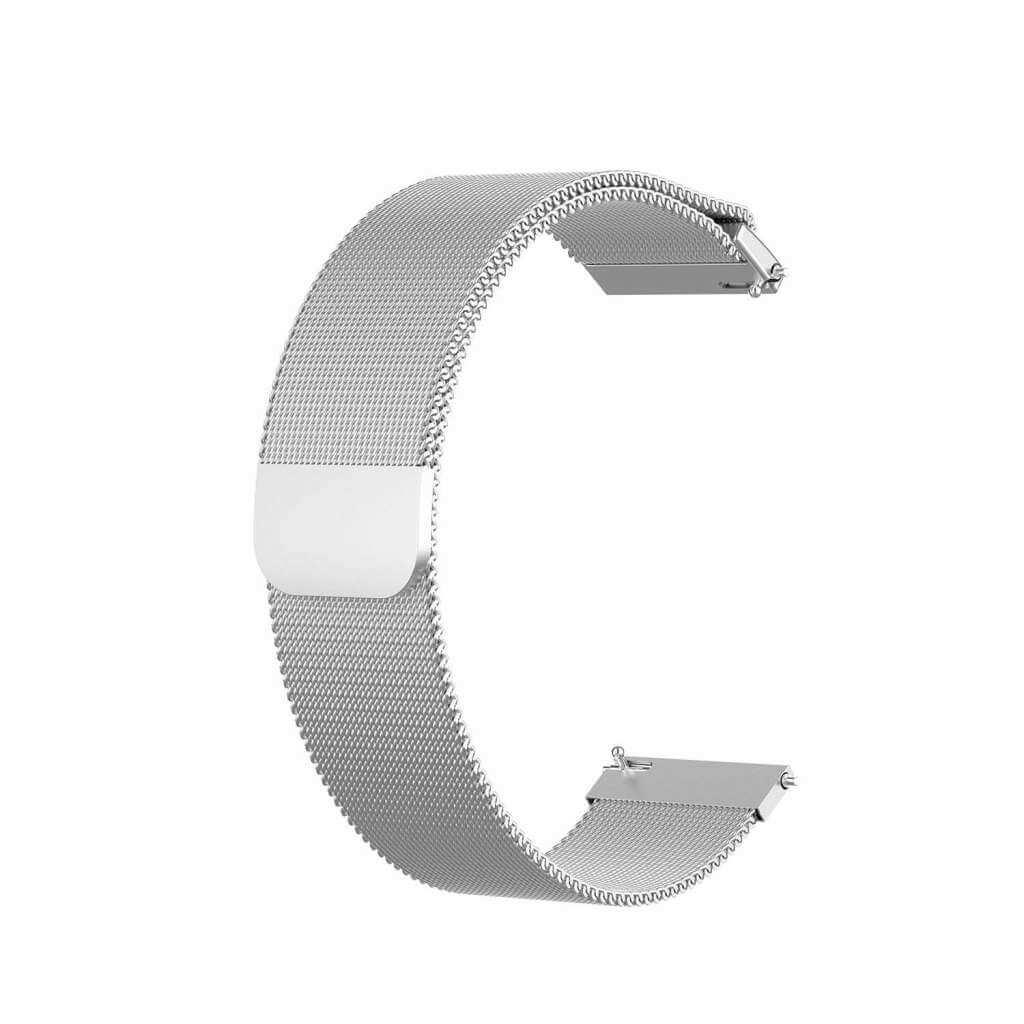 Xiaomi univerzální ocel strap 20 mm (stříbrná)
