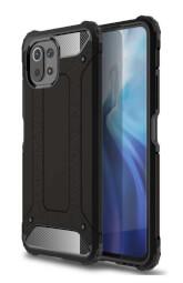 Lenuo Armor obal pro Xiaomi Mi 11 Lite, černá