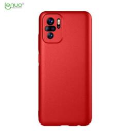 Lenuo Leshield obal pro Xiaomi Redmi Note 10, červená