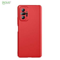 Lenuo Leshield obal pro Xiaomi Redmi Note 10 Pro, červená