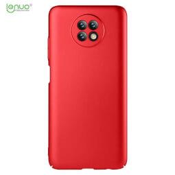 Lenuo Leshield obal pro Xiaomi Redmi Note 9T, červená