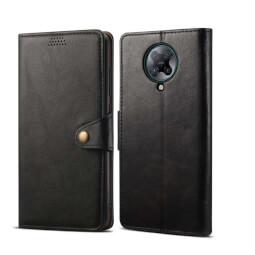Pouzdro flipové Lenuo Leather pro Xiaomi Poco F2 Pro, černá