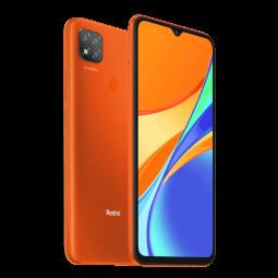 Xiaomi Redmi 9C NFC 2/32GB oranžová-rozbaleno-Bez krabičky