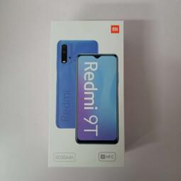 Xiaomi Redmi 9T 4/64GB modrá ROZBALENO