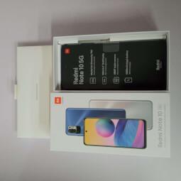 Xiaomi Redmi Note 10 5G 4/64GB stříbrná ROZBALENO