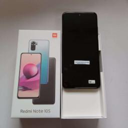 Xiaomi Redmi Note 10S 6/128GB černá-Rozbaleno