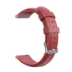 Xiaomi univerzální kožený strap 20mm (červená)