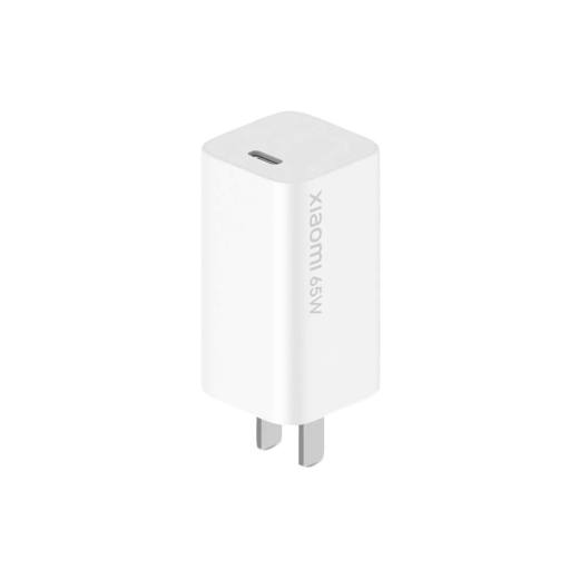 Adaptér Xiaomi GaN Charge Type-C 65W, bílý