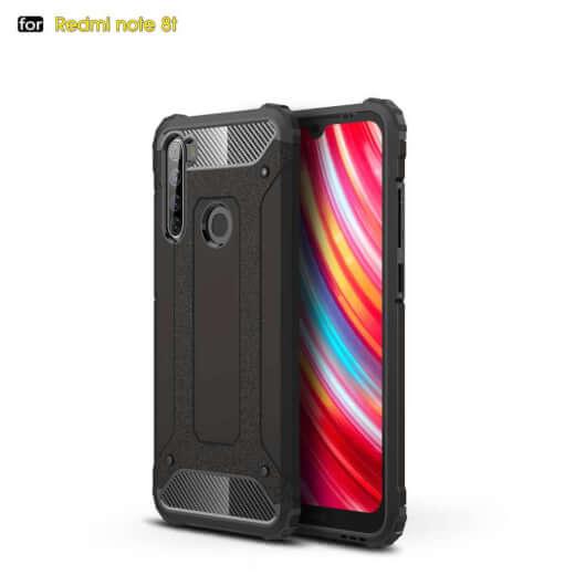 Obal Lenuo Armor pro Xiaomi Redmi Note 8T, černá