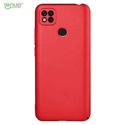 Obal Lenuo Leshield pro Xiaomi Redmi 9C, červená