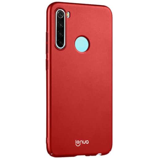 Obal Lenuo Leshield pro Xiaomi Redmi Note 8T, červená