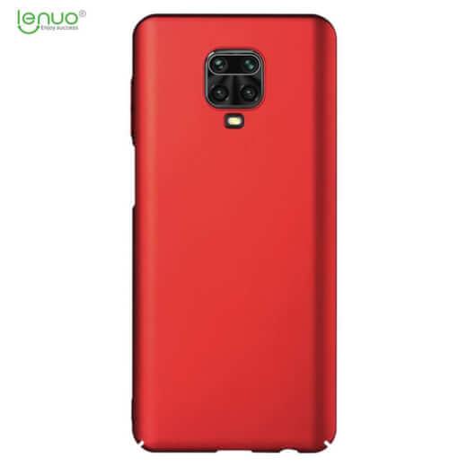 Obal Lenuo Leshield pro Xiaomi Redmi Note 9 Pro/ Note 9S, červená