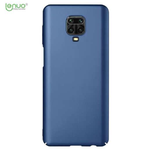 Obal Lenuo Leshield pro Xiaomi Redmi Note 9 Pro/ Note 9S, modrá
