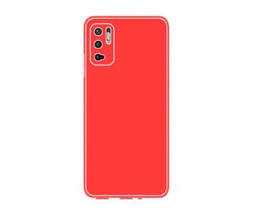 Ochranný TPU obal Lenuo pro Xiaomi Redmi Note 10 5G, červený