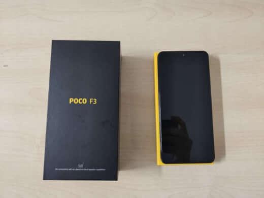 POCO F3 6/128GB černá - rozbaleno