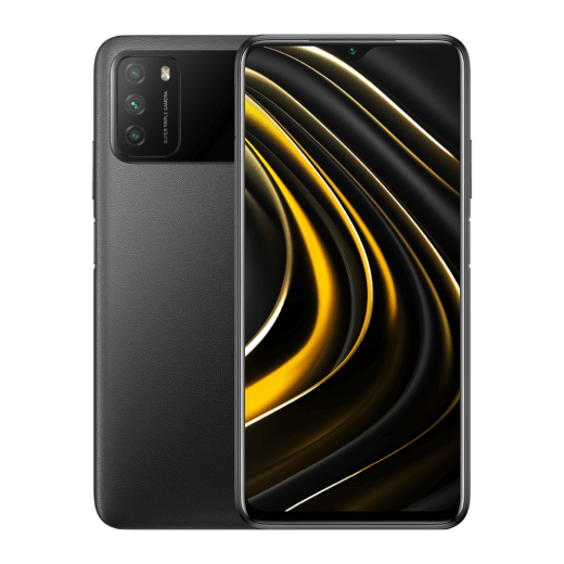POCO M3 4/128GB černá