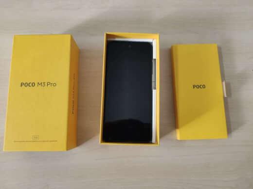 POCO M3 Pro 5G 4/64GB modrá ROZBALENO