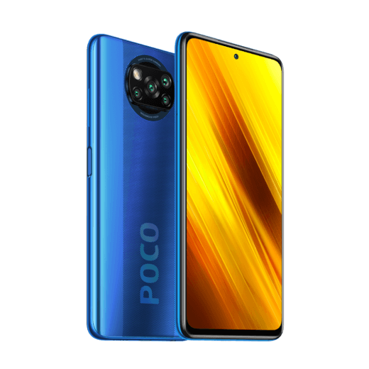POCO X3 NFC 6/128GB modrá