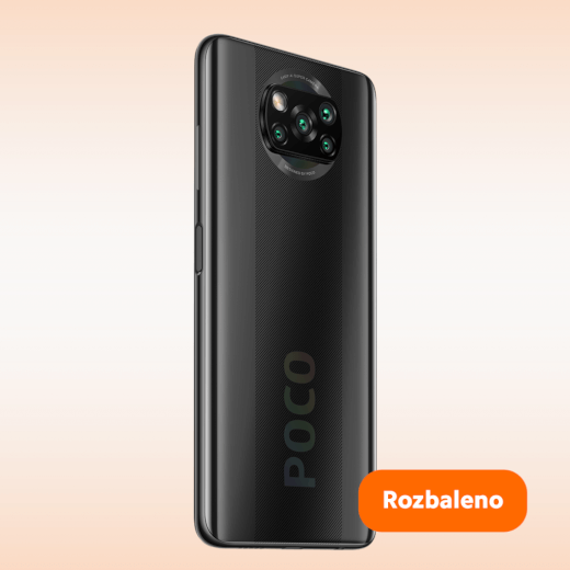 POCO X3 NFC 6/128GB šedá - ROZBALENO