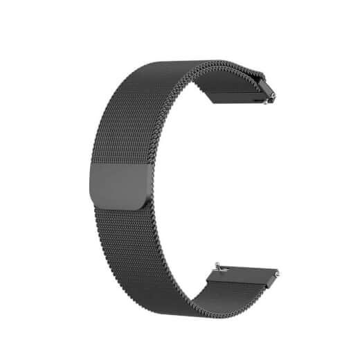 Xiaomi GTR ocel strap 22 mm (černá)