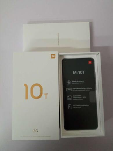 Xiaomi Mi 10T 6/128GB stříbrná ROZBALENO