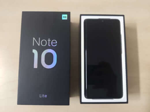 Xiaomi Mi Note 10 Lite 6/64GB fialová ROZBALENO