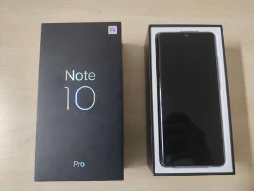 Xiaomi Mi Note 10 Pro 256GB černá ROZBALENO