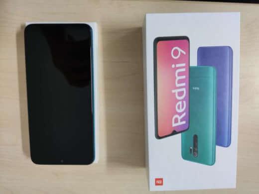 Xiaomi Redmi 9 4/64GB zelená - rozbaleno