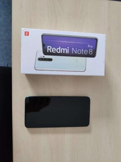 Xiaomi Redmi Note 8 Pro 6/64GB zelená - ROZBALENO