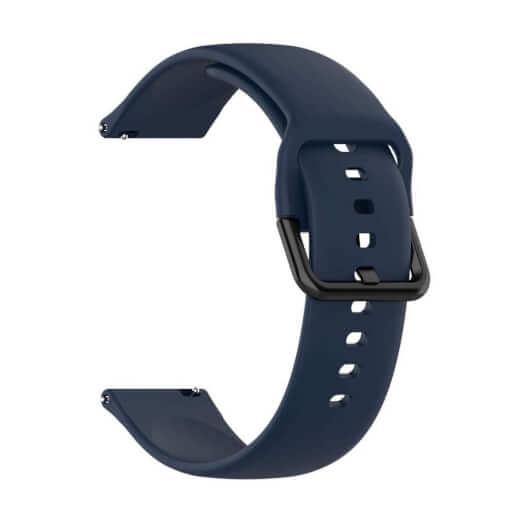 Xiaomi univerzální silikon Strap 20 mm (Modrá)