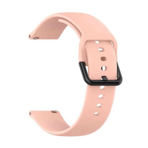 Xiaomi univerzální silikon strap 20 mm (růžová)