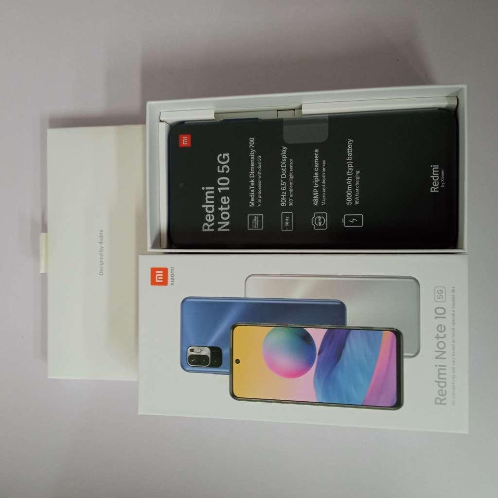 Xiaomi Redmi Note 10 5G 4/64GB modrá ROZBALENO